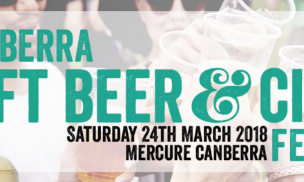 2018 Canberra Craft Beer and Cider Festival