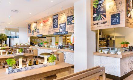 Canberra's new Italian restaurant Vapiano