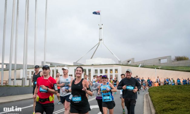 Australian Running Festival 2018. Photo: Dion Georgopoulos