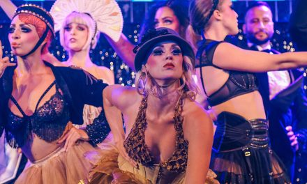 Review: Blanc de Blanc a sassy soiree under the Spiegeltent