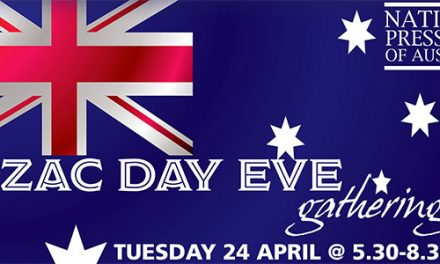 ANZAC Day Eve at The National Press Club