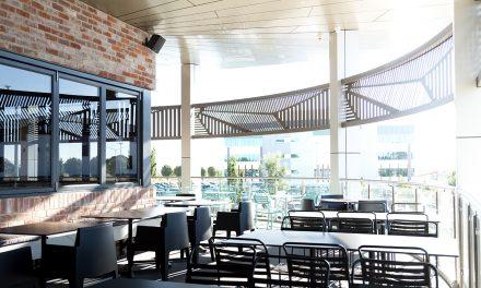 The new local, Cornerstone café and bar