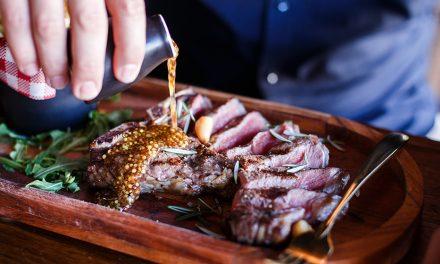 Gourmet twist on steak dinner