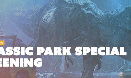 Jurassic Park Special Screening at Dendy Cinemas Canberra