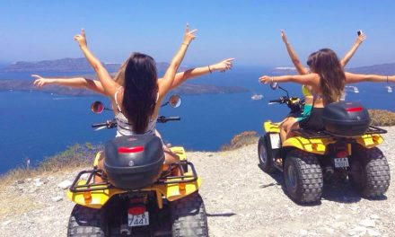 From where we'd rather be: Santorini