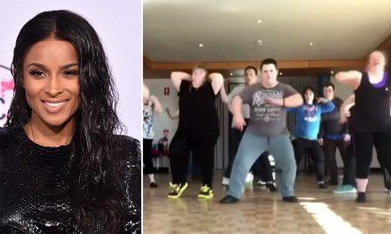 Canberra's viral dancers melt Ciara's heart
