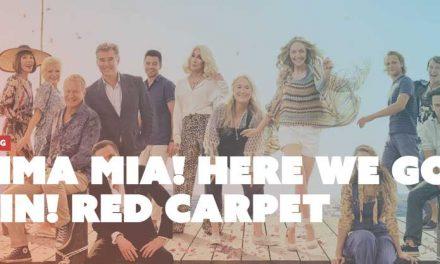 MAMMA MIA! Here we go again Red Carpet Screening at Dendy Cinemas