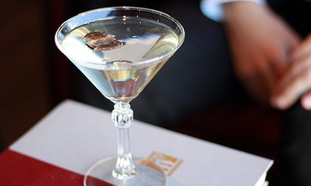 Truffle Martini at First Edition