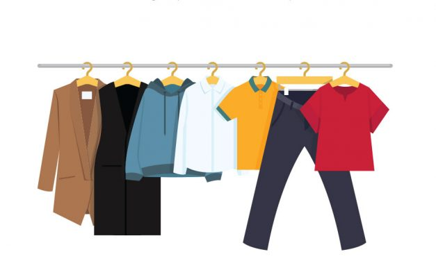 Your spring clean – someone's spring wardrobe