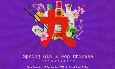Spring Gin x Pop Chinese Degustation