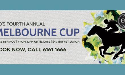 Melbourne Cup for EQ Café