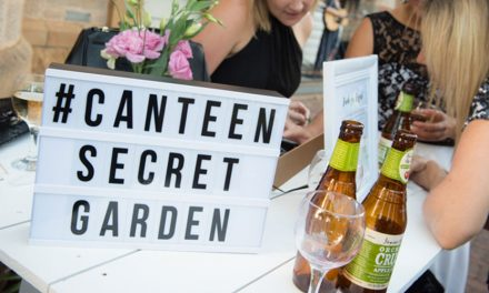 Canteen Secret Garden Party at Floriade