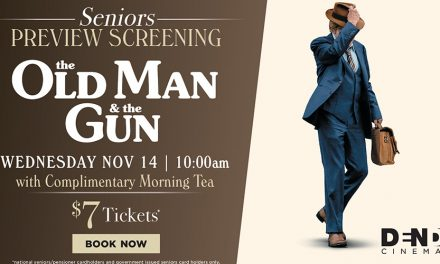 The Old Man & The Gun: Seniors Preview at Dendy
