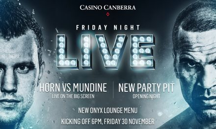 Friday Night Live at Canberra Casino