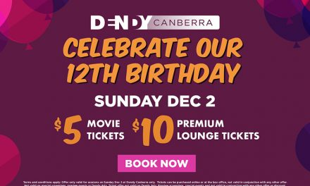 Celebrate Dendy's 12th Birthday with $5 Tickets!