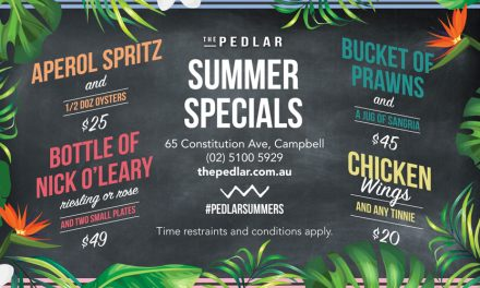 Summer Specials at the Pedlar