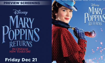 Preview Screening of Mary Poppins Returns