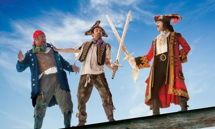 GIVEAWAY: 3x double passes to Peter Pan Goes Wrong