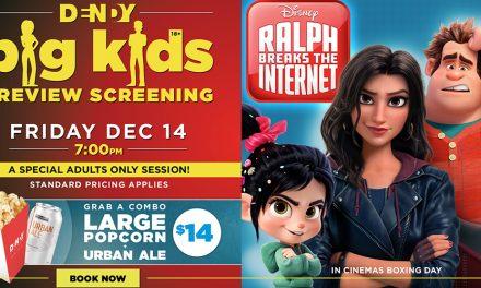 Big Kids Screening: Ralph Breaks the Internet