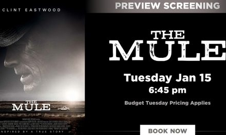 Preview Screening of The Mule at Dendy