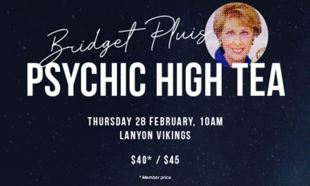 Psychic High Tea with Bridget Pluis at Vikings