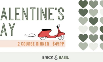 Valentines Day at Brick & Basil