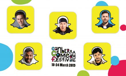 We snapchat with 5 comedians from the CCF