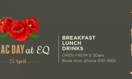 Anzac Day at EQ Cafe