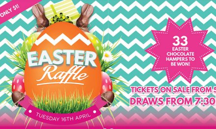 Easter Raffle at The Lakes