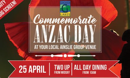 Anzac Day at The Lakes
