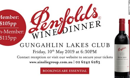 Penfolds Wine Dinner at The Lakes