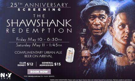Shawshank Redemption 25th Anniversary at Dendy