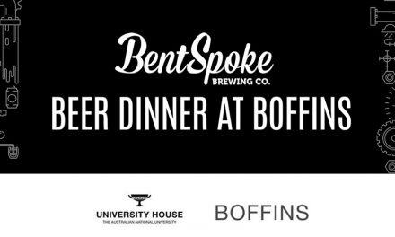 Bentspoke Beer Dinner at Boffins