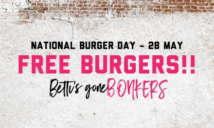 Free Burger Day at Bad Betti's