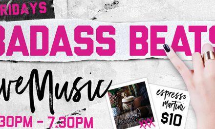 Fridays Badass beats at Bad Betti's