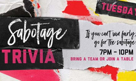 Sabotage Trivia Tuesdays at Bad Betti's