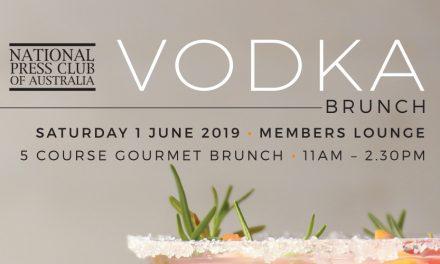 Vodka Brunch at National Press Club
