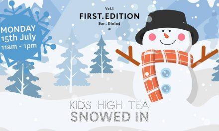 Kids High Tea at First Edition