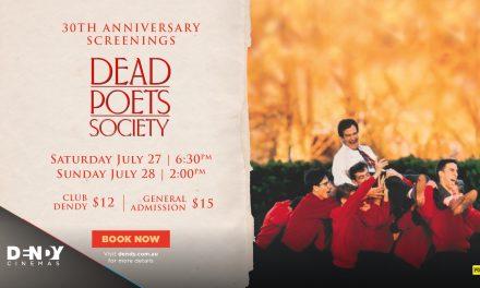 Dead Poets Society at Dendy