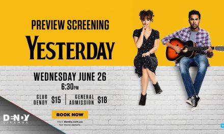 Yesterday – Preview Screening