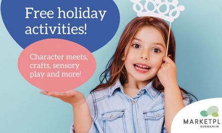 Marketplace Gungahlin Free School Holiday Activities