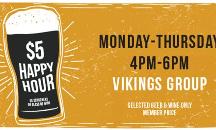 $5 Happy Hour at your local Vikings
