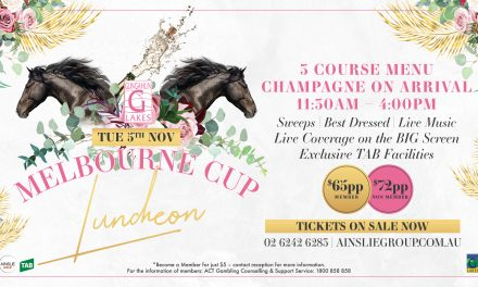 Melbourne Cup Luncheon at Gungahlin Lakes