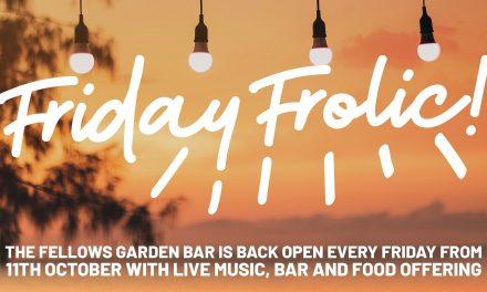 Friday Live Music at Fellows Garden Bar