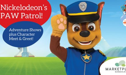 Free Paw Patrol Adventure Shows at Marketplace Gungahlin