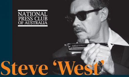 Steve 'West' Western at National Press Club