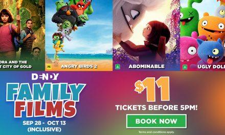$11 Family Films at Dendy!