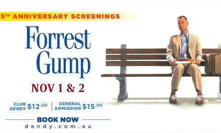 Anniversary Screening: Forrest Gump