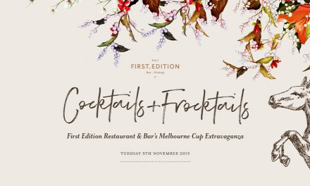 Cocktails + Frocktails: Melbourne Cup at First Edition