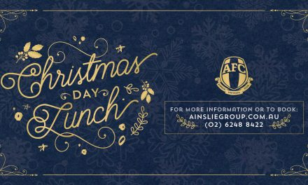 Christmas Day Lunch – Ainslie Football Club